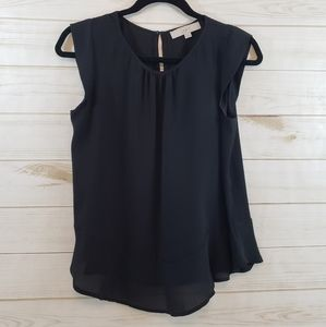 LOFT Black Top SZ: XS Sleeveless
